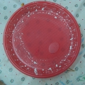 Новогодние тарелочки-сувениры своими руками