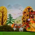 Поделка из разных материалов «На лесную ярмарку»