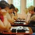 Шашечный турнир среди воспитателей