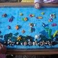 Коллективная работа на тему «Морское царство»