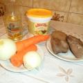 «Печёночный салат». Рецепт