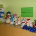 Новогодняя выставка «Вот какой он, снеговик!»