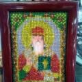Вышивка бисером «Святой Михаил»