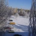 Зима в городе Новоузенске Саратовской области.