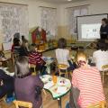 Фотоотчет о заседании семейного клуба «Школа молодого родителя»