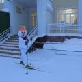 Снеговик-почтовик в детском саду!
