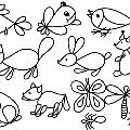 Рисование животных— «Капелька»