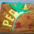 Мягкая развивающая книжка-игрушка из ткани «Репка»
