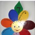 Дидактическое пособие «Цветик-Семицветик Неделька» для закрепления знаний о днях недели