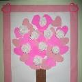 Дерево «валентинок».