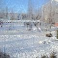 «Жизнь прекрасна во дворе в белоснежном феврале». Фотоотчет о зимнем пейзаже