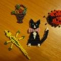 Мои первые игрушки из бисера. Плоское плетение
