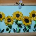 Мастер-класс: декоративное панно «Подсолнухи»