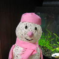 Снеговичок из ниток