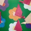 Веселые бабочки. Кружок «Страна Оригами»