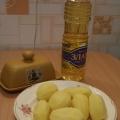 Запеченный картофель Лепестки