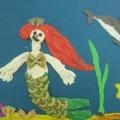 Детское творчество с использованием макарон