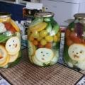 «Огород» для зимы (консервирование)