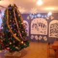 Оформление зала к Новому году
