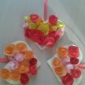 Сердце из роз. Квилинг.