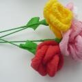 Букет роз из салфеток своими руками