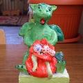 Символ года— дракон. Выставка в детском саду