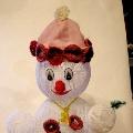 Снеговичок из волшебной паутинки… или «В ожидание праздника»