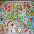 Детские игры по предметному миру: авторская настольная игра «Путешествие»