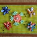 Канзаши (превращение атласной ленты в необычные цветы)