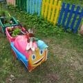 Летнее оформление участка в детском саду