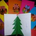 Мастер-класс: новогодние открытки