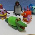 Забавные животные из киндер-сюрпризов