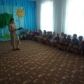 Фотоотчёт о музыкально-познавательной программе «Петрушка и светофор»