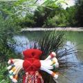 Традиционная народная кукла «Десятиручка»