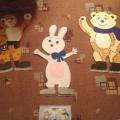 Новогоднее оформление окон в детском саду «Наша Олимпиада!»