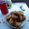 Скорые пирожки «Летние» (с зеленым луком).