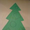 Дидактическая игра по математике «Украсим елочку к Новому году»