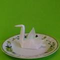 Мастер-класс «Лебедь в технике оригами» для детей младшего школьного возраста