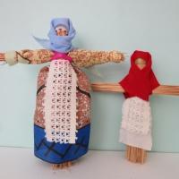 Мастер-класс «Кукла-стригушка»