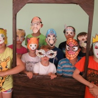 Фрагмент занятия «Маски» с детьми младшего школьного возраста