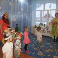 Развлечение во второй младшей группе «Рождественские колядки»