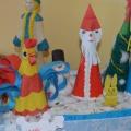 Фотоотчет о выставке поделок «Новогодние фантазии»