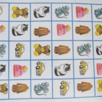 Игра «Считай и называй» для автоматизации свистящих, шипящих и сонорных звуков