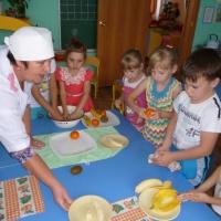 Отчет о проведении досуга «Фруктовый десерт»