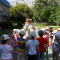 Конспект интегрированного занятия для детей средней группы «Летнее приключение»