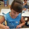 Конспект совместной деятельности педагога и детей. Рисование в нетрадиционной технике «по мокрому листу»