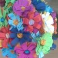 Мастер-класс «Топиарий «Цветущее дерево» из бумаги и бросового материала