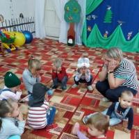 Спортивная игра-развлечение для младшей группы «Теремок»