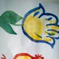 Фотоотчет «Рисование ладошками»