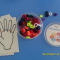 Фотоотчет игры по методике М. Монтессори своими руками.